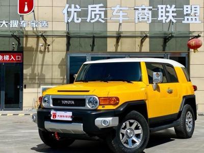 2019年7月 2019款 FJ酷路泽 4.0L 两气 双油箱 JBL(中东)图片