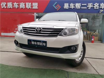 丰田 Fortuner  2015款 2.7L 标准版