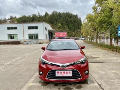 豐田 雷凌  2017款 1.2T V CVT豪華版