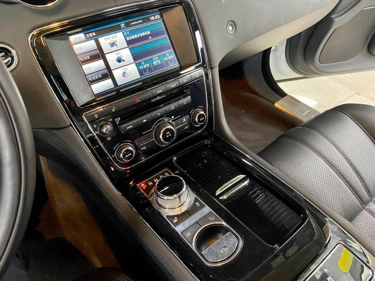 捷豹 XJ  2015款 XJL 3.0 SC 两驱尊享商务版图片