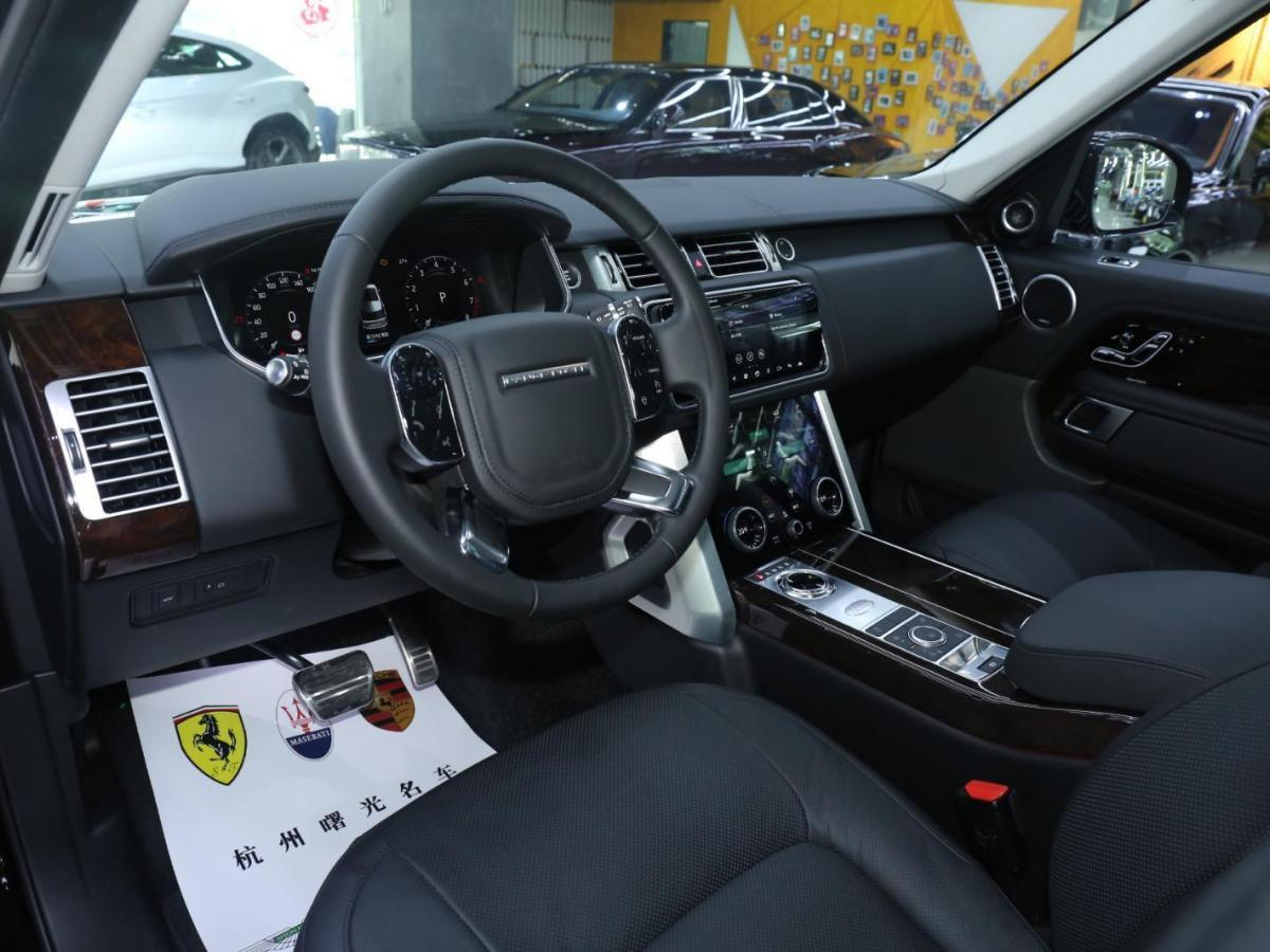路虎 揽胜  2019款 3.0 V6 SC 传世加长版图片