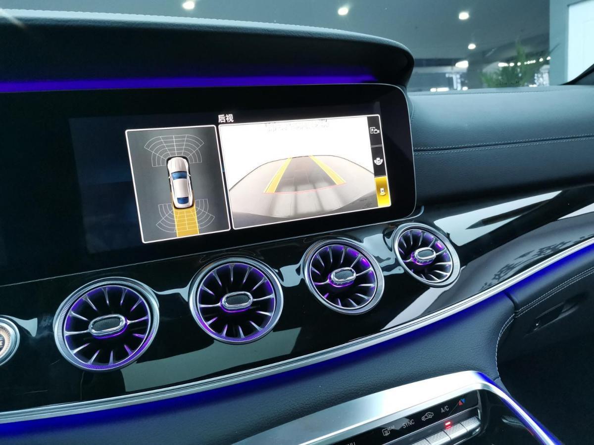 奔驰 奔驰AMG GT 奔驰2020款 AMG GT 50 四门跑车图片