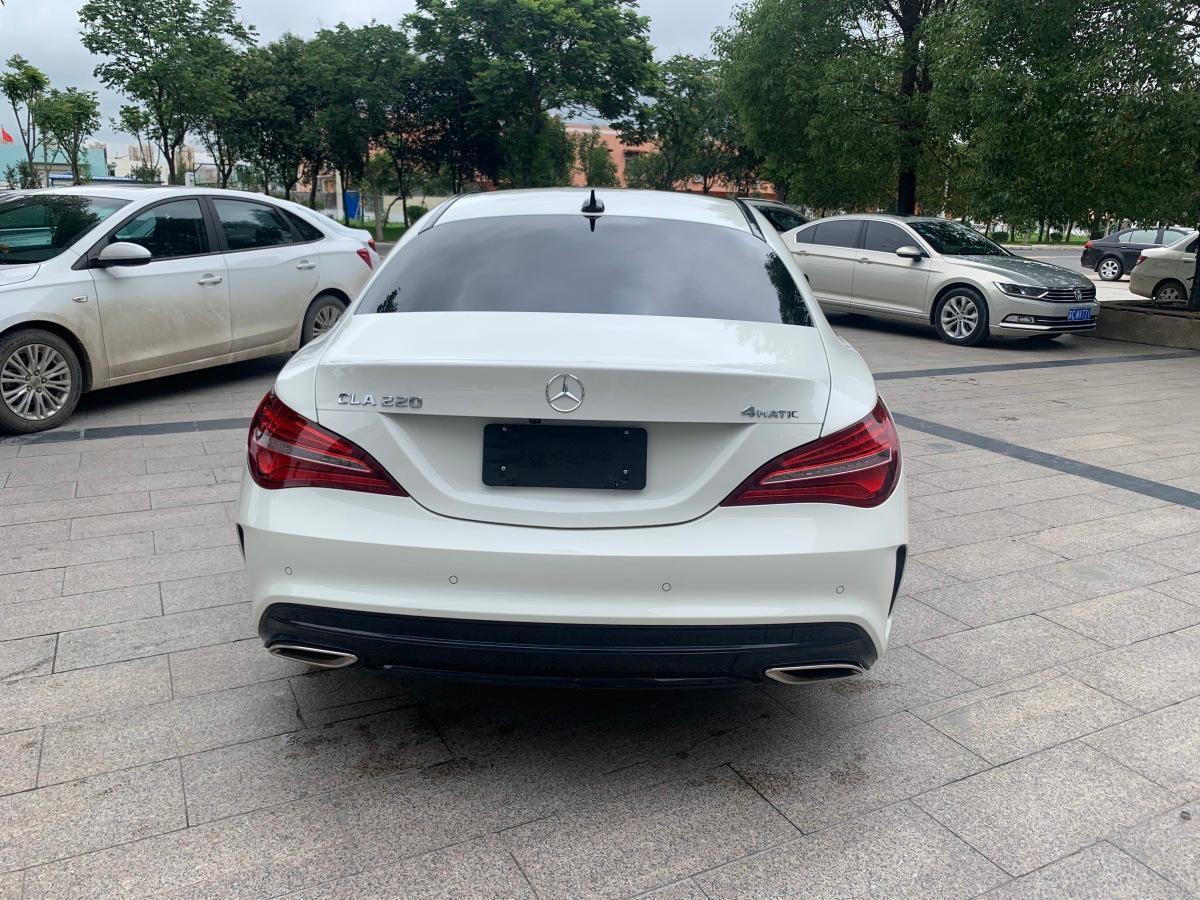 奔驰 奔驰CLA级  2017款 CLA 220 4MATIC图片
