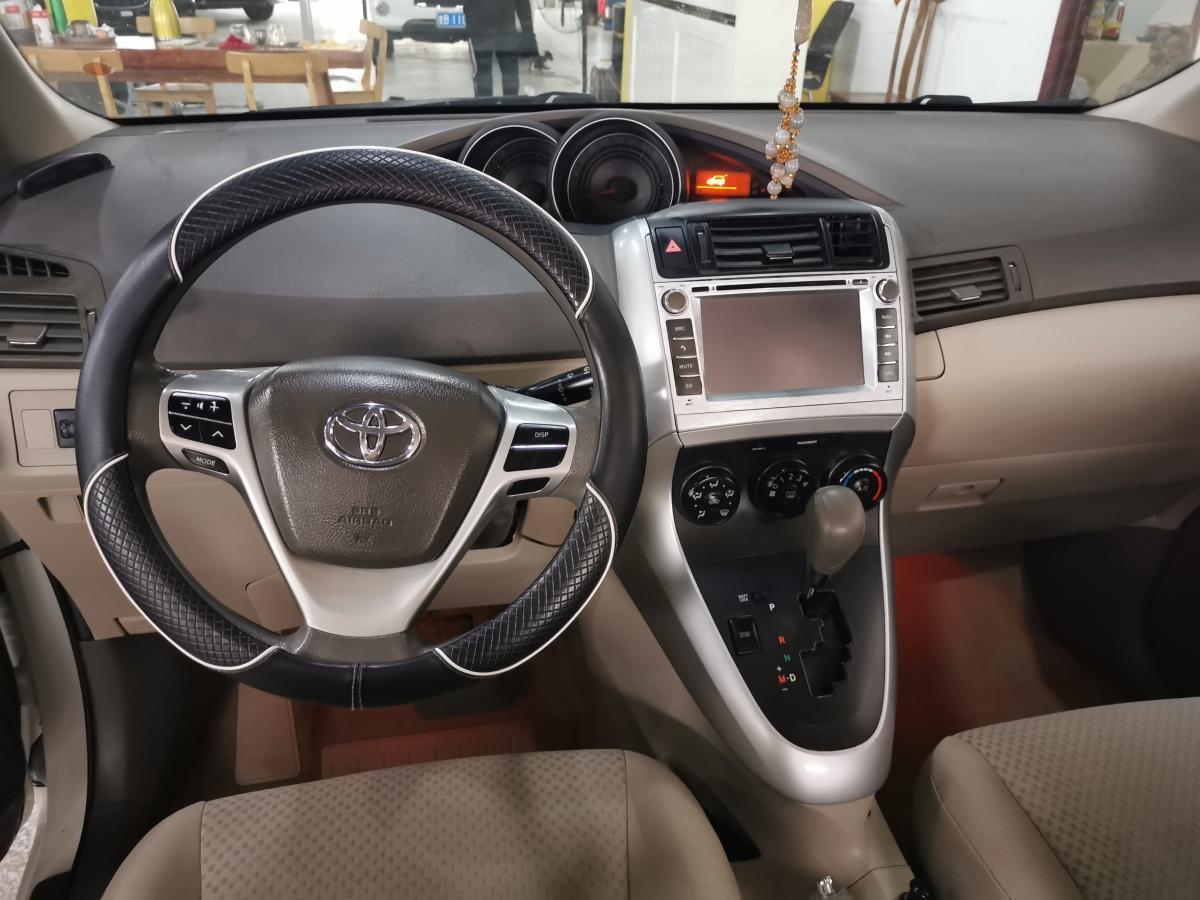 丰田 逸致  2012款 180G CVT舒适多功能版图片