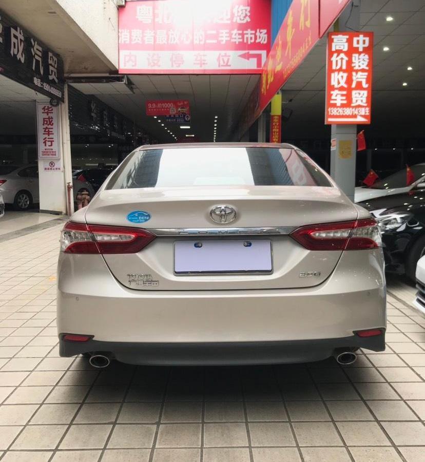 丰田 凯美瑞  2018款 2.5G 豪华版图片