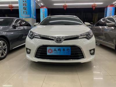 2016年11月 丰田 雷凌 1.6G CVT精英版图片