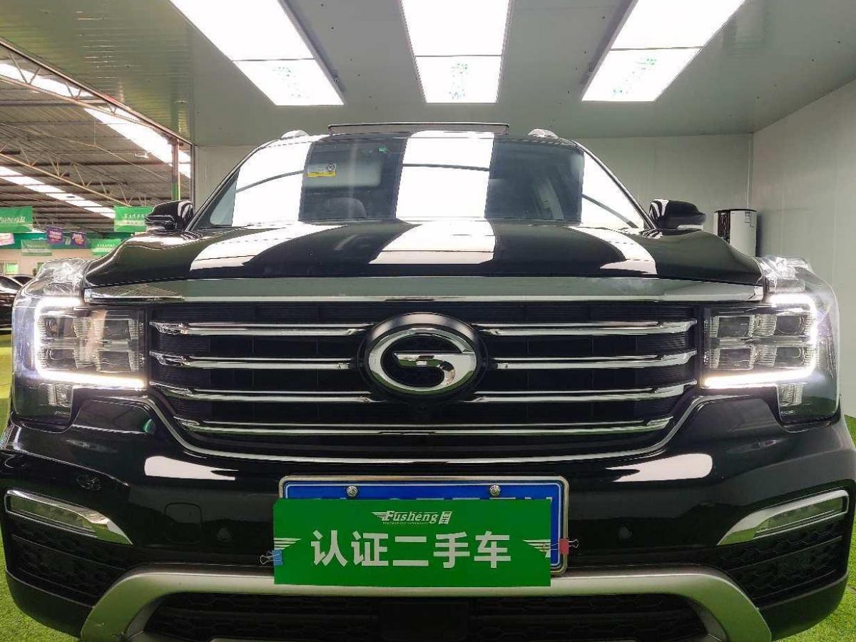 GS8图片 广汽传祺 320T 两驱豪华智联版