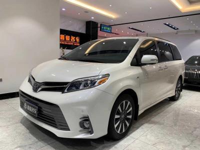 丰田 塞纳 2019款 3.5 四驱 LTD