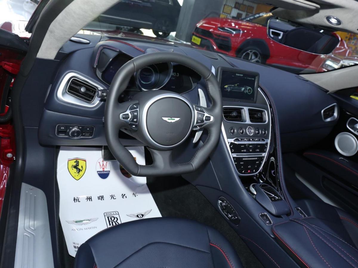 阿斯顿·马丁 阿斯顿・马丁DBS  2019款 DBS Superleggera Volante图片