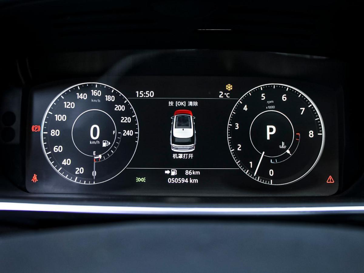 路虎 揽胜  2017款 3.0 V6 SC 盛世版图片