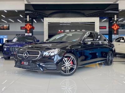 奔驰 奔驰E级  2018款 E 300 L 运动豪华型