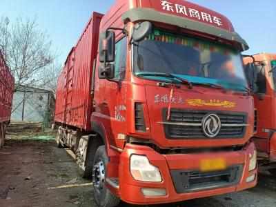 东风天龙前四后厢式货车,9.6米国五排放图片