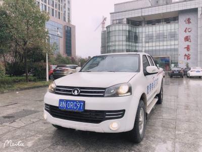 長城 風駿5  2017款 2.0T歐洲版柴油四驅精英型小雙排GW4D20B