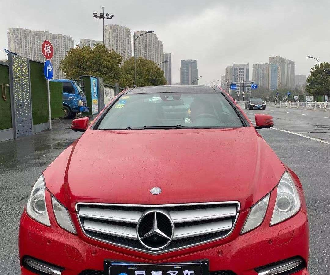 2013年12月 奔驰 奔驰E级(进口) E 200 CGI Coupe图片