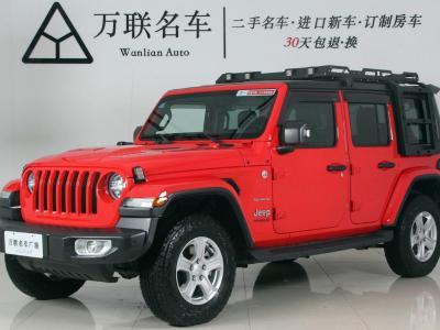 2019年9月 Jeep 牧马人(进口) 2.0T Sahara 四门版 国VI图片