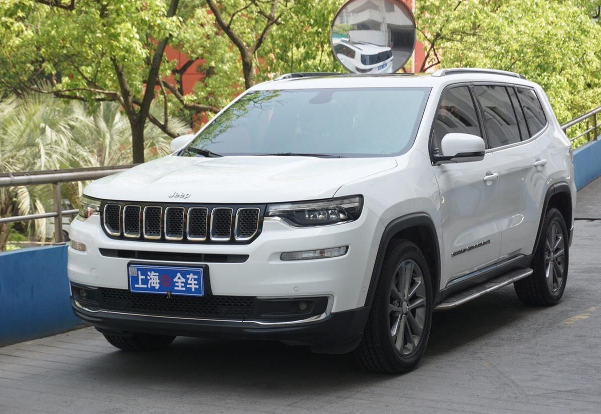 上海二手Jeep大指挥官2018款2.0T四驱尊享导航版手自一体报价19.8万