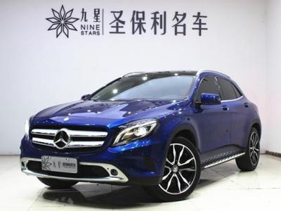 2016年12月 奔驰 奔驰GLA  GLA 200 蓝调版图片