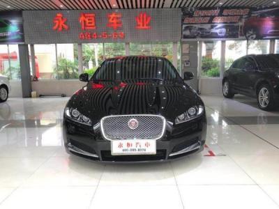 捷豹 XF  2.0T 豪华版 涡轮增压图片