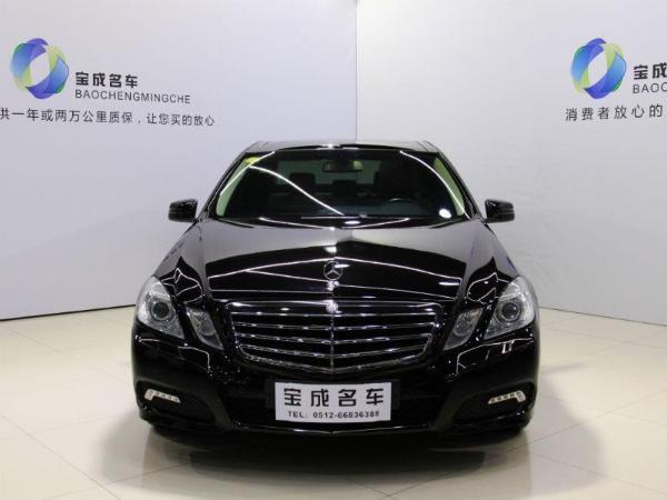 【苏州】2010年3月 奔驰 e级 e300 3.0时尚型豪华版 黑色 手自一体