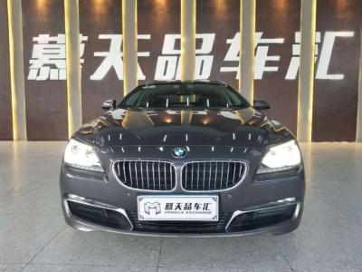 宝马 宝马6系  2012款 640i 3.0T 四门 Gran Coupe 轿跑车