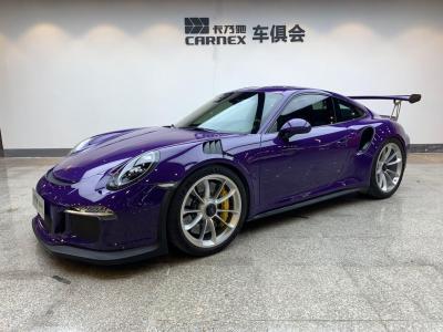 保时捷 911  2015款 GT3 RS 4.0L