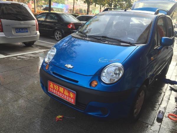 【滁州】2012年5月 雪佛兰 乐驰 1.0 蓝色 手动挡图片