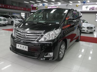 丰田 埃尔法  2012款 3.5L 尊贵版
