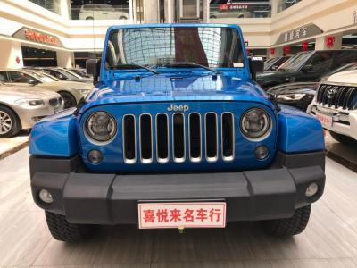 Jeep 牧马人  2016款 3.0L Sahara 75周年致敬版