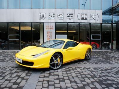 2012年6月 法拉利 458  4.5L Italia圖片