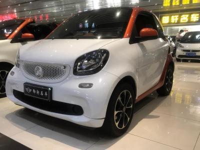 smart fortwo  2015款 1.0L 52千瓦硬頂激情版