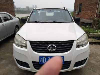 长城 风骏5  2011款 2.2L财富版 两驱大双排GW491QE