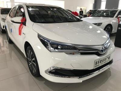 2018年8月 丰田 卡罗拉 改款双擎 1.8L E-CVT豪华版图片