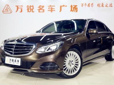 奔馳 奔馳E級  2015款 E260L 2.0T 豪華型