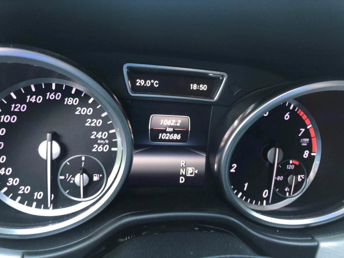奔驰 奔驰M级  2015款 ML 320 4MATIC图片