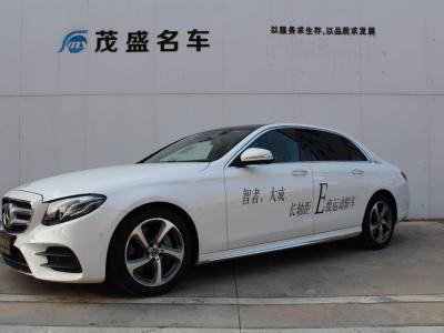 2018年5月 奔驰 奔驰E级 改款 E 300 L 运动豪华型图片