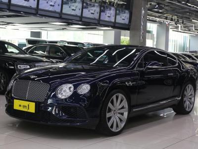 宾利 欧陆  2017款 4.0T GT V8 标准版