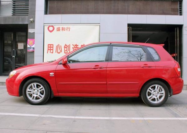 【西安】2009年1月 起亚 赛拉图 欧风 1.6 gl 红色 自动档图片