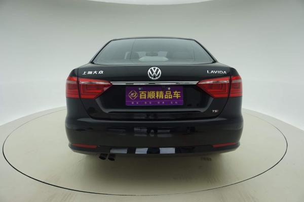 【惠州】2014年4月 大众 朗逸 1.4tsi 豪华版(改款) 黑色 自动档图片