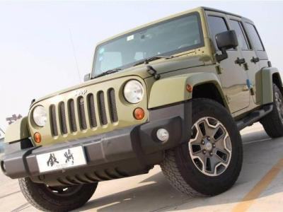 Jeep 牧马人 图片
