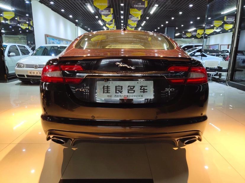 捷豹 XF  2013款 XF 3.0 SC 风华版图片
