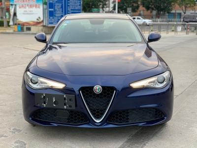 阿尔法·罗密欧 Giulia  2017款 2.0T 280HP 豪华版图片