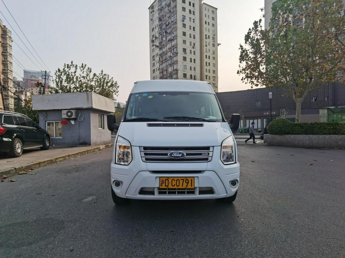 2013年9月_出售二手车福特 新世代全顺  2013款 2.4T柴油经济型长轴中顶国IV哪里有卖_价格多少11.5万