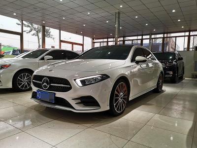 奔驰 奔驰A级  2019款 A 200 L 运动轿车先行特别版?#35745;?/>                         <div class=