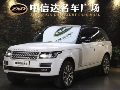 2017年10月 路虎 揽胜(进口) V6 汽油美规行政版图片