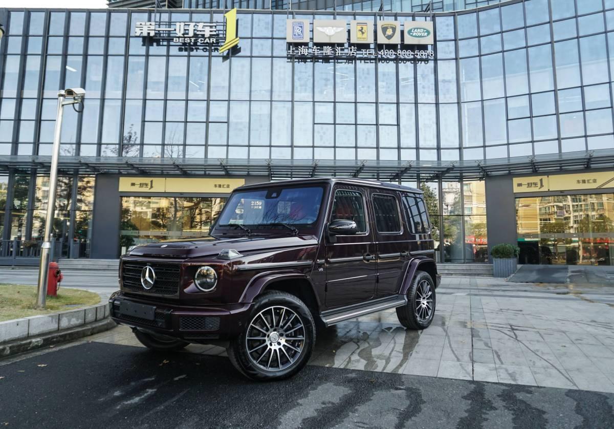 2019年12月_出售二手车奔驰 奔驰G级  2019款 G 500哪里有卖_价格多少233万