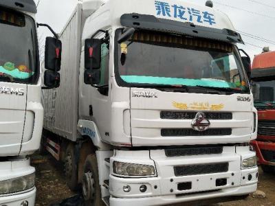2016年12月 枊汽乘龙M5前四后四厢式货车,国五排放图片