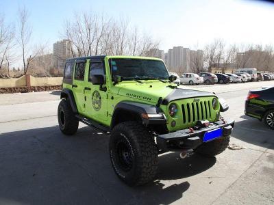 Jeep 牧馬人  2017款 3.6L Rubicon 四門舒享版