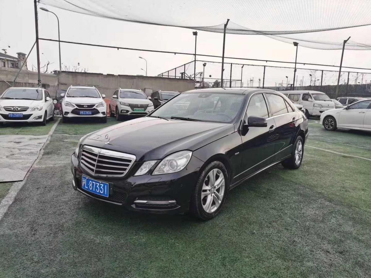 2011年11月_出售二手车奔驰 奔驰E级  2011款 E 200 L CGI优雅型哪里有卖_价格多少13.8万