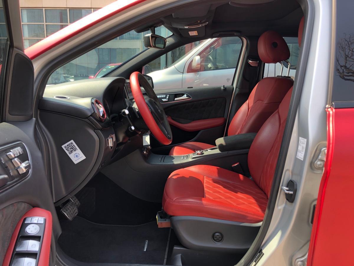 奔驰 奔驰B级  2015款 B 200 豪华型图片