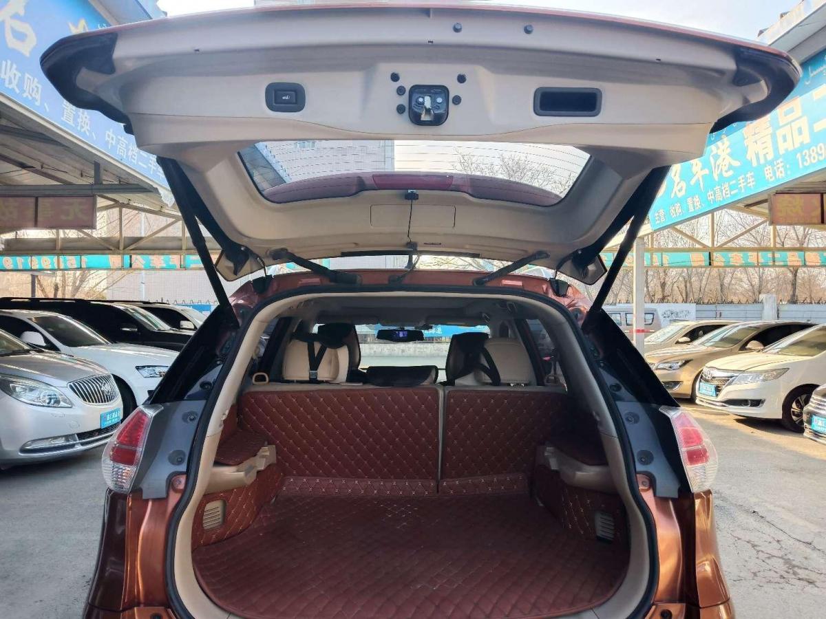 日产 奇骏  2015款 2.5L CVT领先MAX版 4WD图片